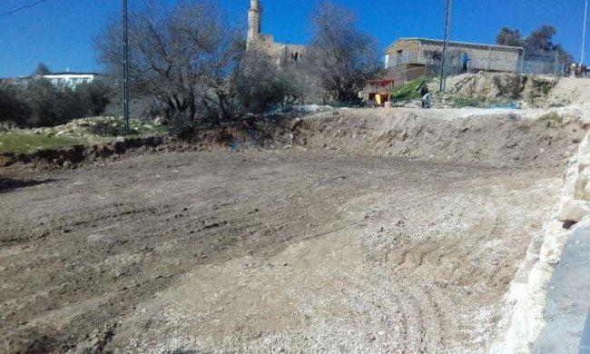 Une construction arabe illégale menace un site archéologique sacré près de Jérusalem