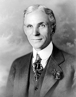 Henry Ford fondateur des usines FORD