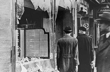 nuit de cristal novembre 1938