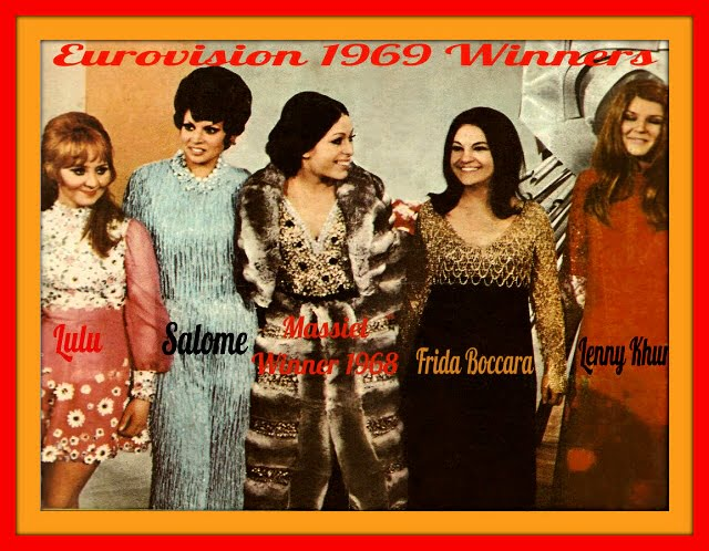 Eurovisions les vainqueurs 1969