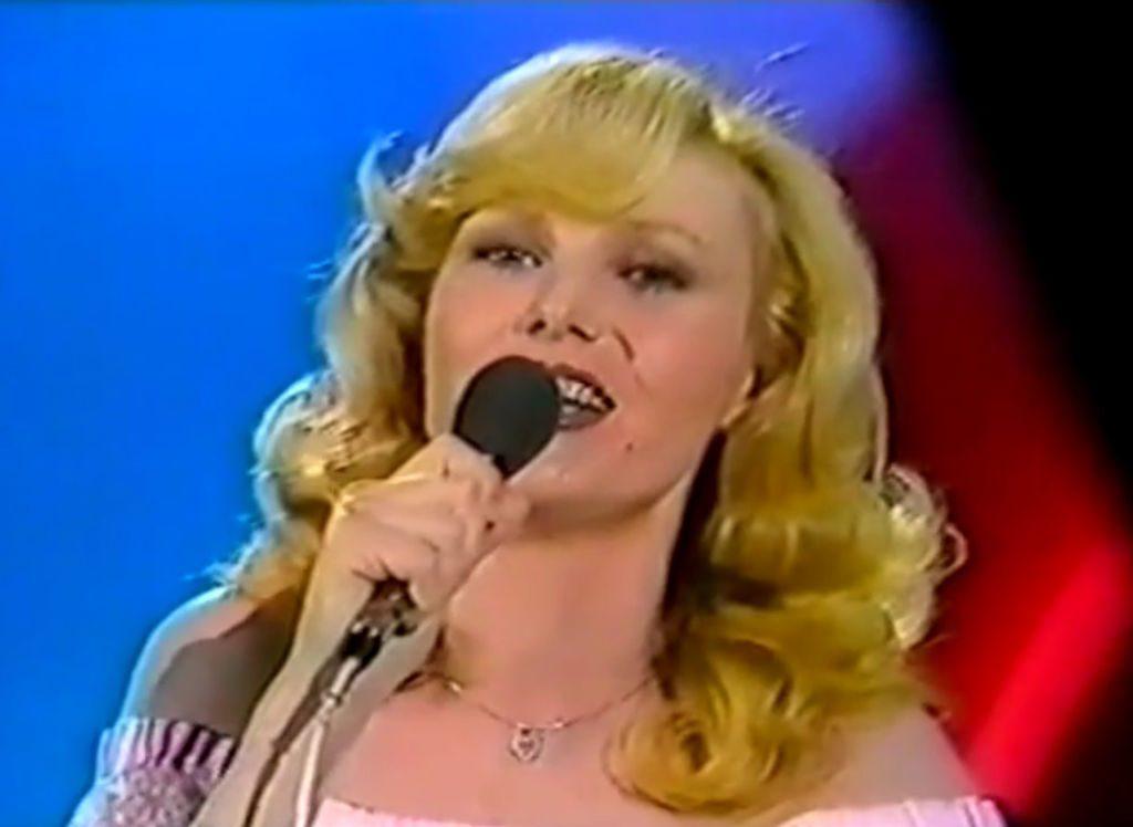 Eurovision 1977 Michèle Torr (Monaco) BBC