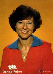 Denise Favre 1978 TF1