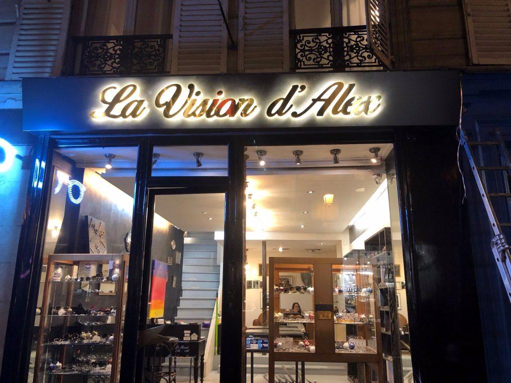 La vision d'Alex Opticienne Marais à Paris