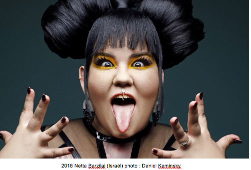 2018 Netta Barzilai (Israël) photo: Daniel Kaminsky
