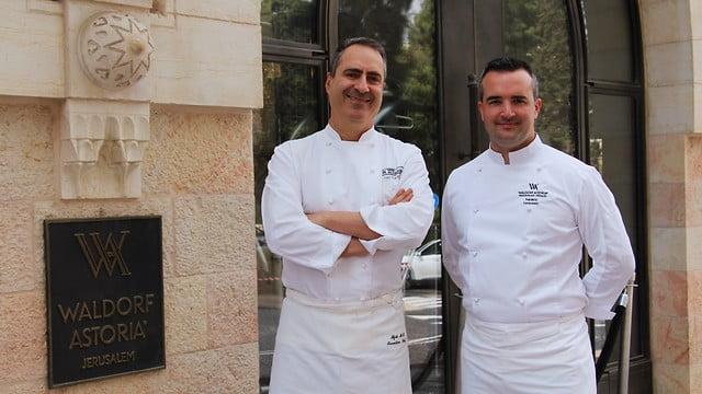 Israël: un festin kasher français à l'hôtel Waldorf Astoria