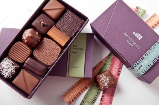 Les chocolats d'Ika Cohen