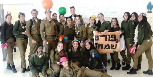 Pourim Samea'h de la part du bataillon Eitan!