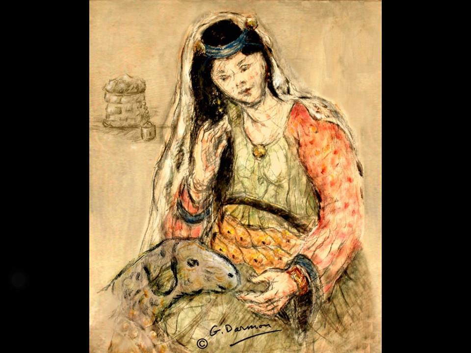 Peinture de l'artiste Gérard Darmon