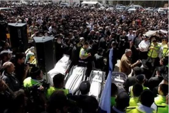 L'enterrement à Jérusalem des quatre victimes juives de Mohamed Merah