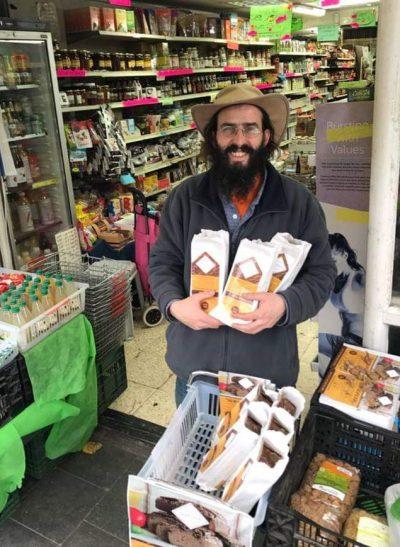 Yehuda Luchter et son pain de teff