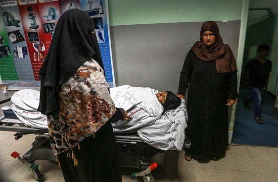 Une femme palestinienne à l'hôpital de Gaza (illustration)