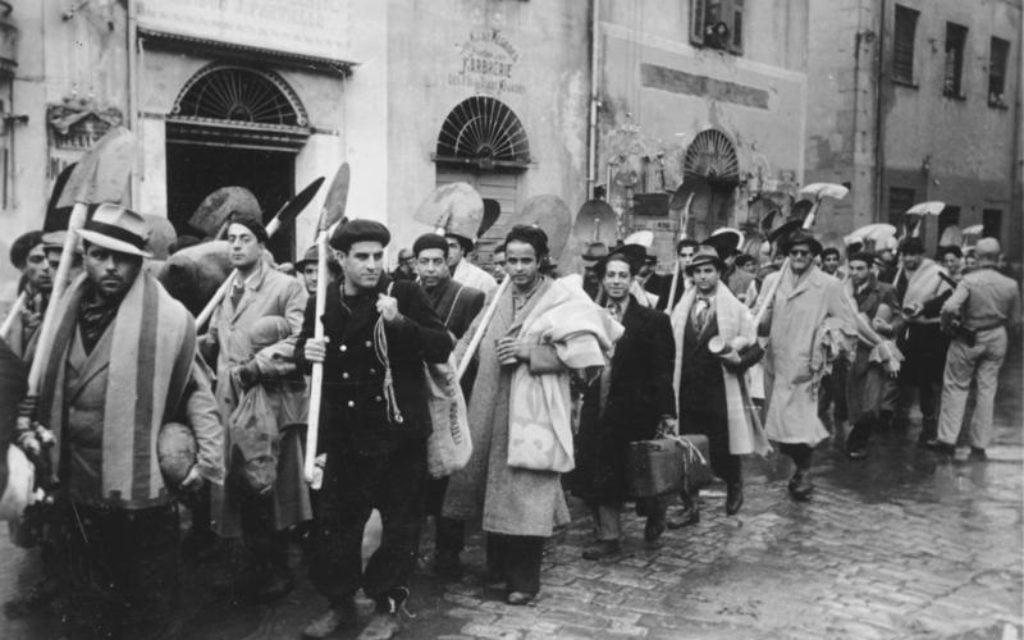 Les Juifs tunisiens sous le joug des nazis en Tunisie