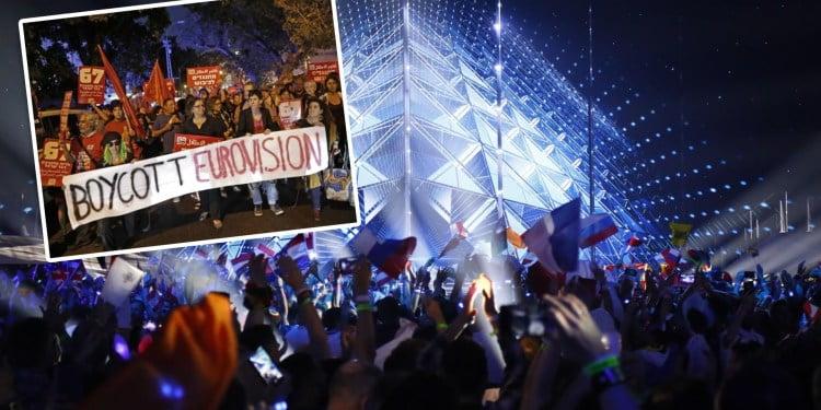 La boycott de l'Eurovision par L'algérie