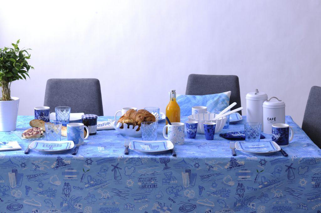 art juif , judaïca pour la table, art juif contemporain . SABABE