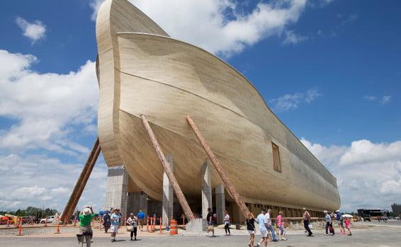 Incroyable: le déluge qui a endommagé l'arche de Noé