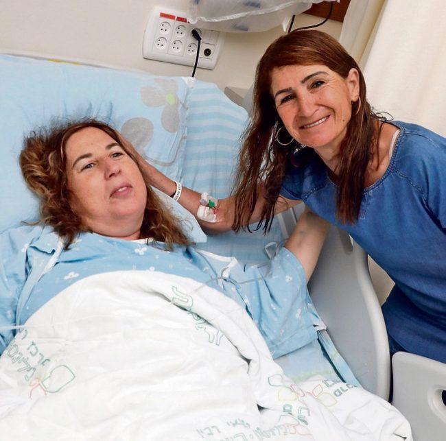 Israël: don d'organe de mère en fille, la générosité d'une famille