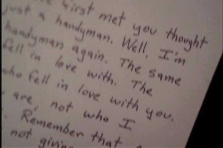 réponse à une lettre d'amour 20 ans plus tard