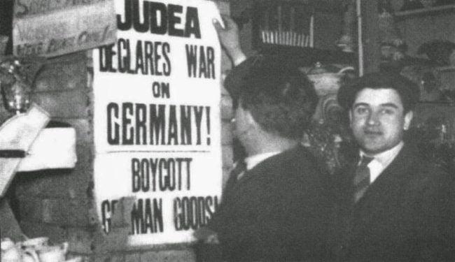 Ce boycott des produits allemands à donné l'idée d'exploiter le transfert des Juifs riches en Palestine à Hitler