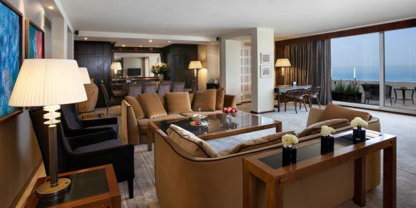 La suite royale de l'hôtel Dan de Tel Aviv