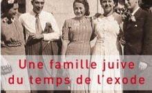 Livre juif : Une famille juive du temps de l'exode Anny Bloch  introduction de Serge Klarsfeld