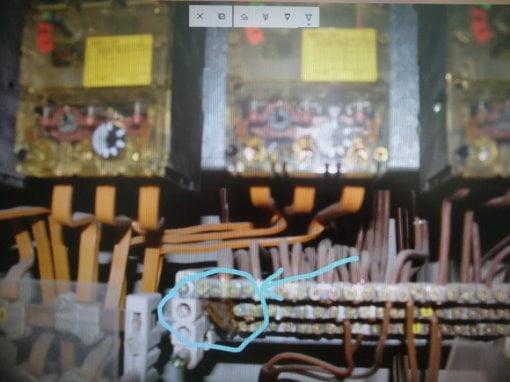 Câbles électriques rongés par les rongeurs