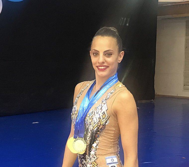 Félicitation à la gymnaste israèlienne qui a remporté deux médailles d'or aux jeux européens