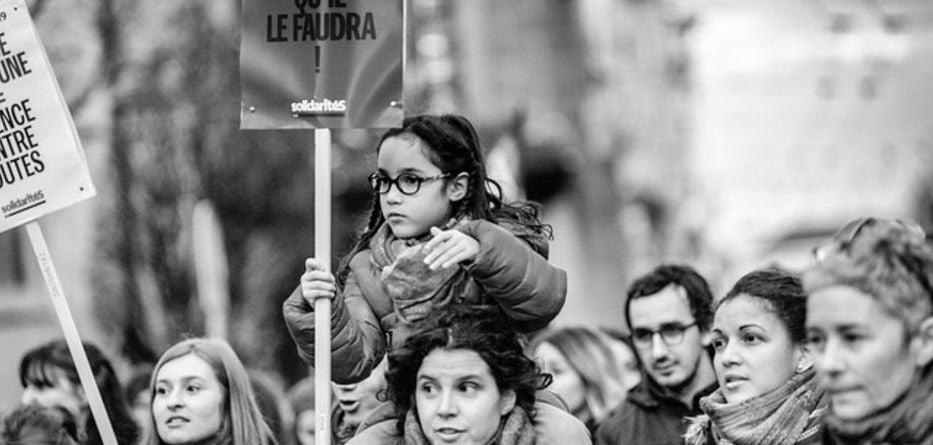 Grève des femmes en Suisse, juives, chrétiennes et musulmanes