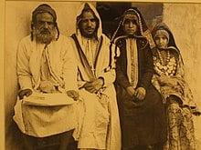 Une famille juive mizrahi originaire du Yemen au début du XXème siècle