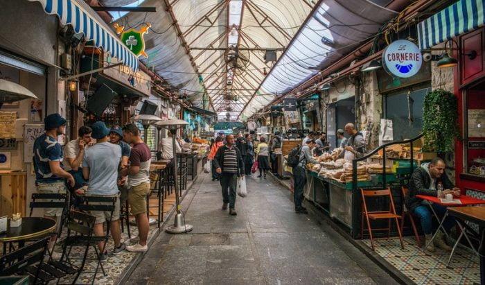 Israël: le réfrigérateur social arrive sur le marché de Mahane Yehuda