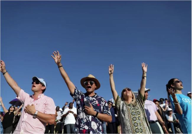Un célèbre exorciste nigérian rassemble des milliers de fidèles en Israël