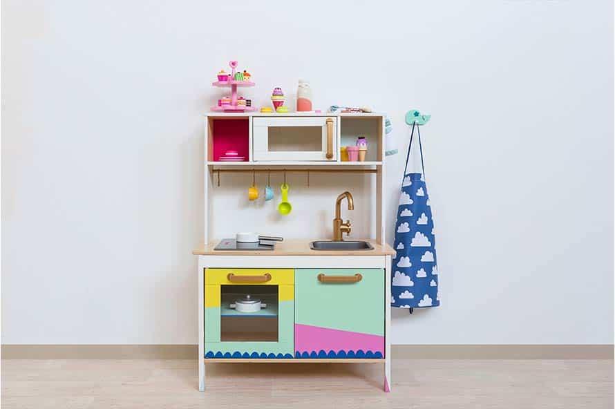 Cuisine enfant IKEA personnalisée