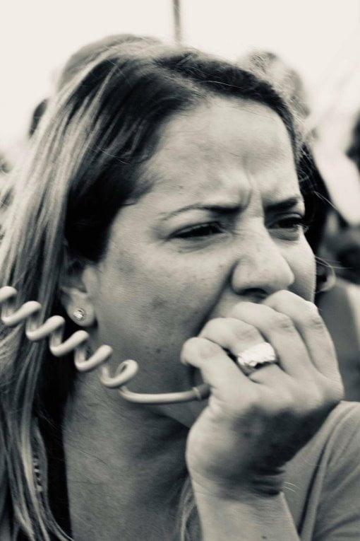 Hila Sisi, l'un des leaders de la lutte à Bat Yam,