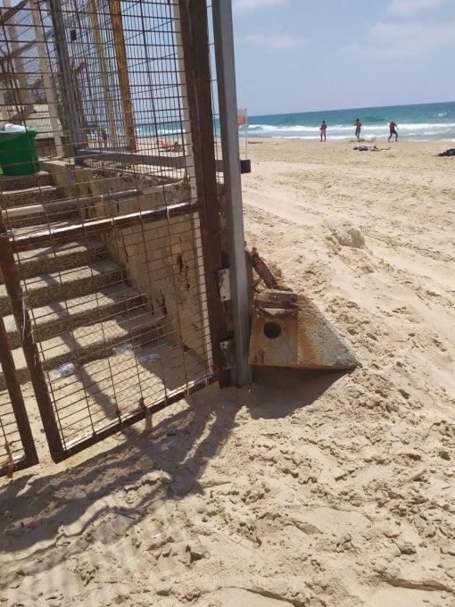 La clôture de la piscine de bat yam créé la polémique chez ses résidents