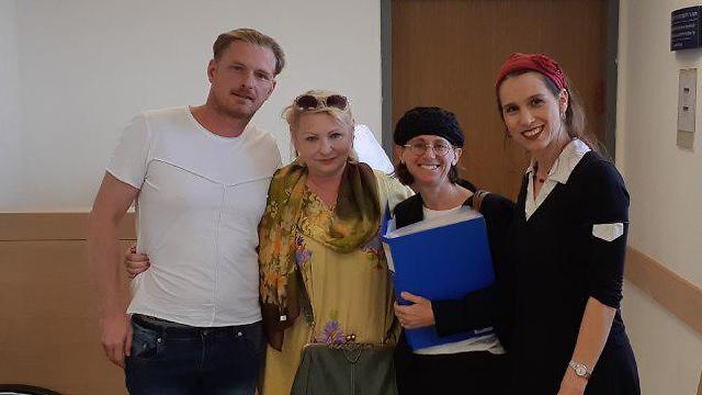 Test ADN en israel Olga à gauche