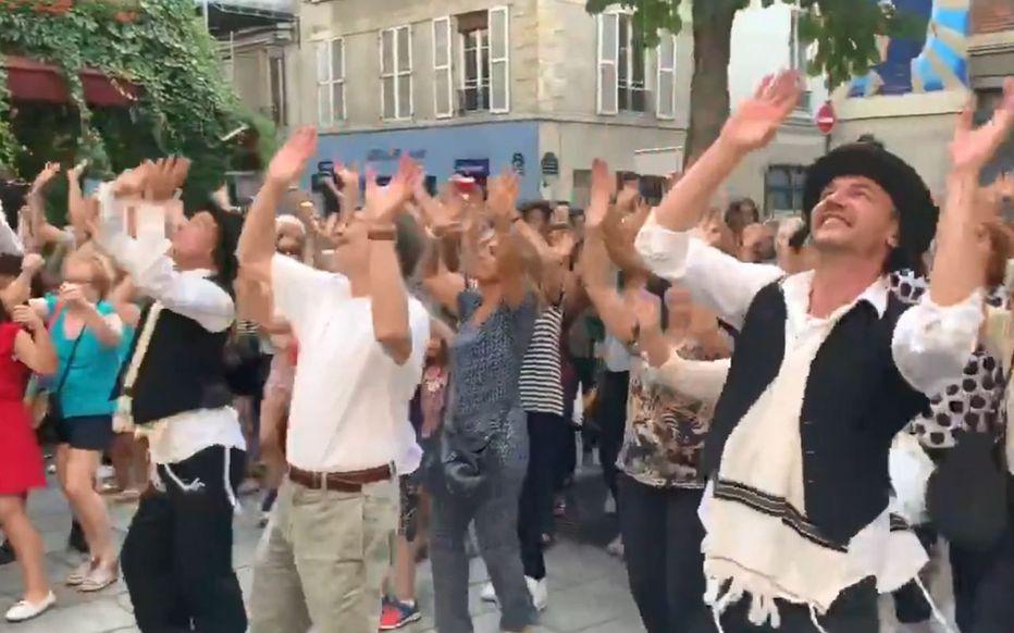 Dans le quartier juif de Paris