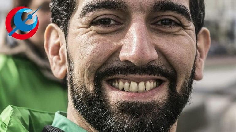Alireza Taimurizadeh, un militant de la Gauche Verte dans la région d'Arnhem
