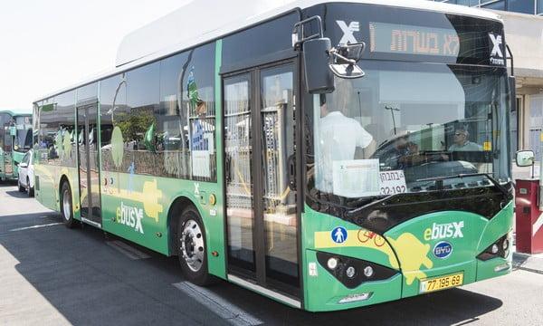 Transport public le shabbat à Ramat Gan