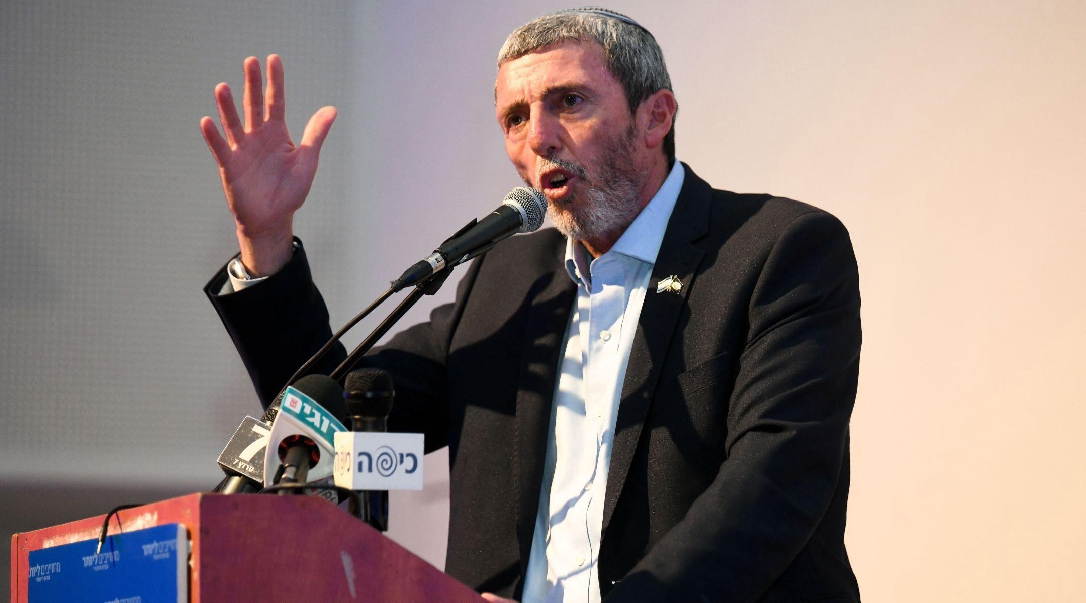 Rafi Peretz, ancien grand rabbin de l'armée israélienne,
