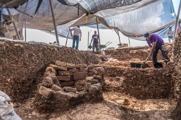 Vieille ville de 9000 ans découverte non loin de Jérusalem