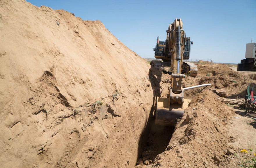 L'armée israélienne a découvert un tunnel transfrontalier jusqu'alors inconnu dans le sud de Gaza.