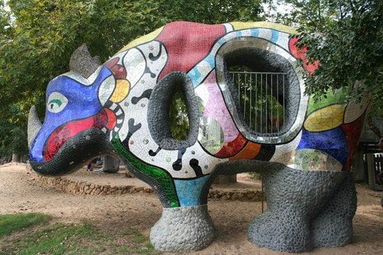 Rhinocéros de Niki de Saint Phalle