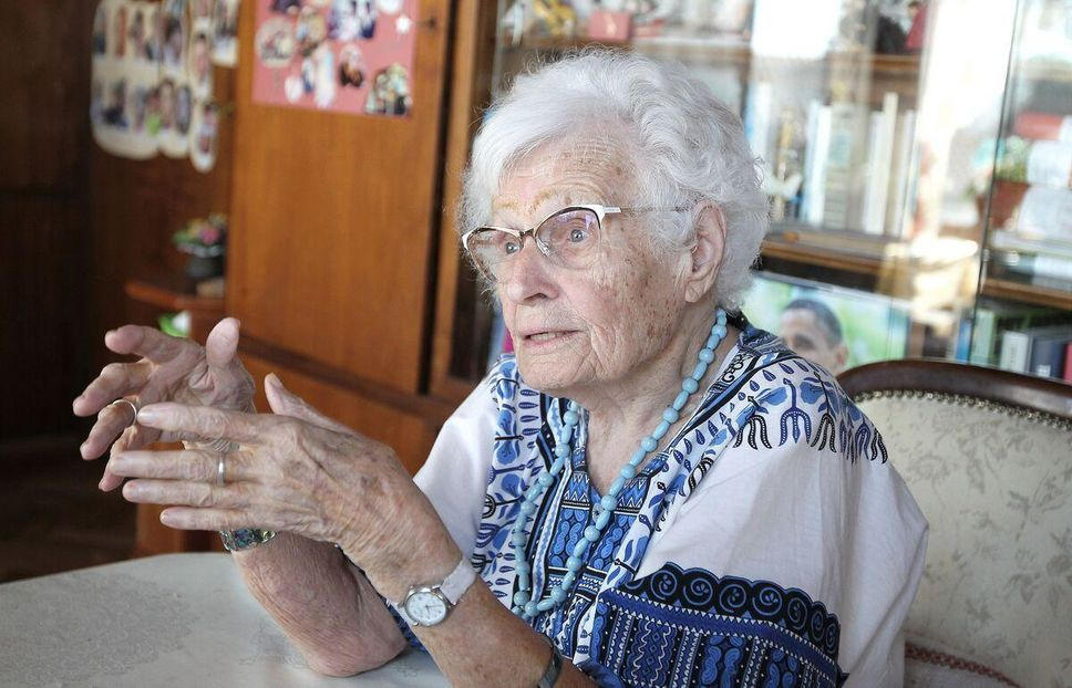 Lisel Heise vient d'avoir 100 ans et se lance en politique