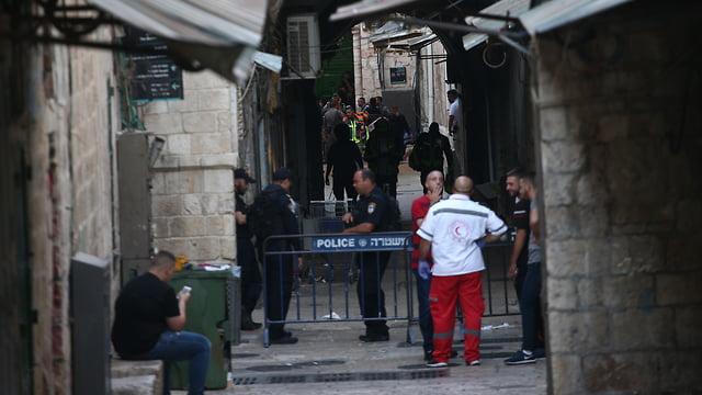 Attentat terroriste à Jérusalem : deux terroristes ont poignardé un policier