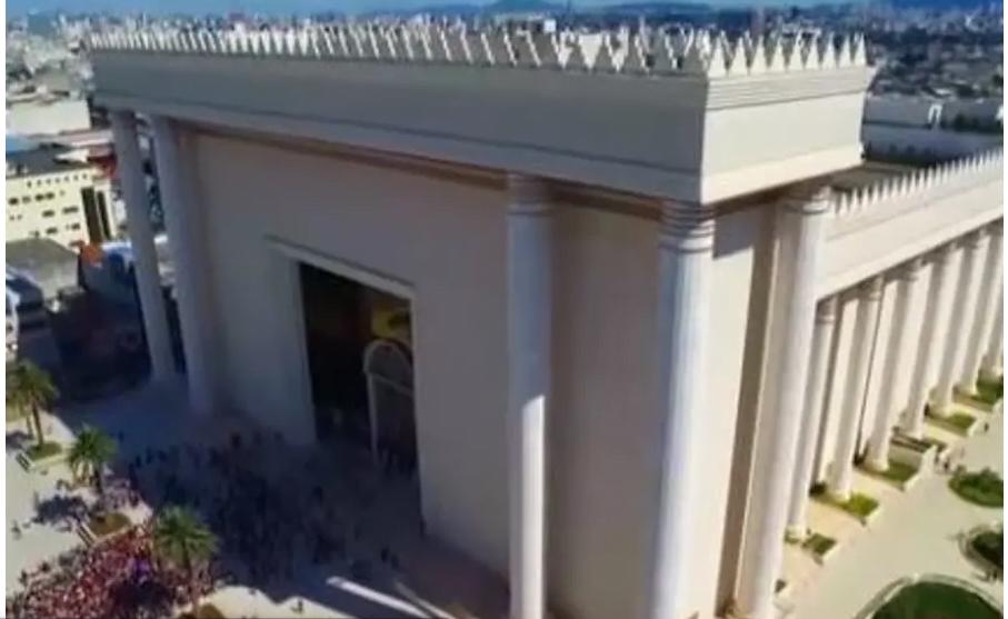 DU «TEMPLE DE SALOMON» AU BRÉSIL ACCUEILLERA LE MUSÉE DE L'HOLOCAUSTE