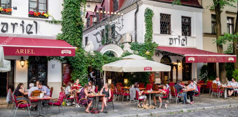 Les bars de Cracovie aux enseignes juives