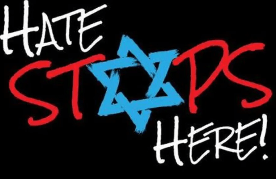 La haine doit s'arrêter ici antisémitisme à New York