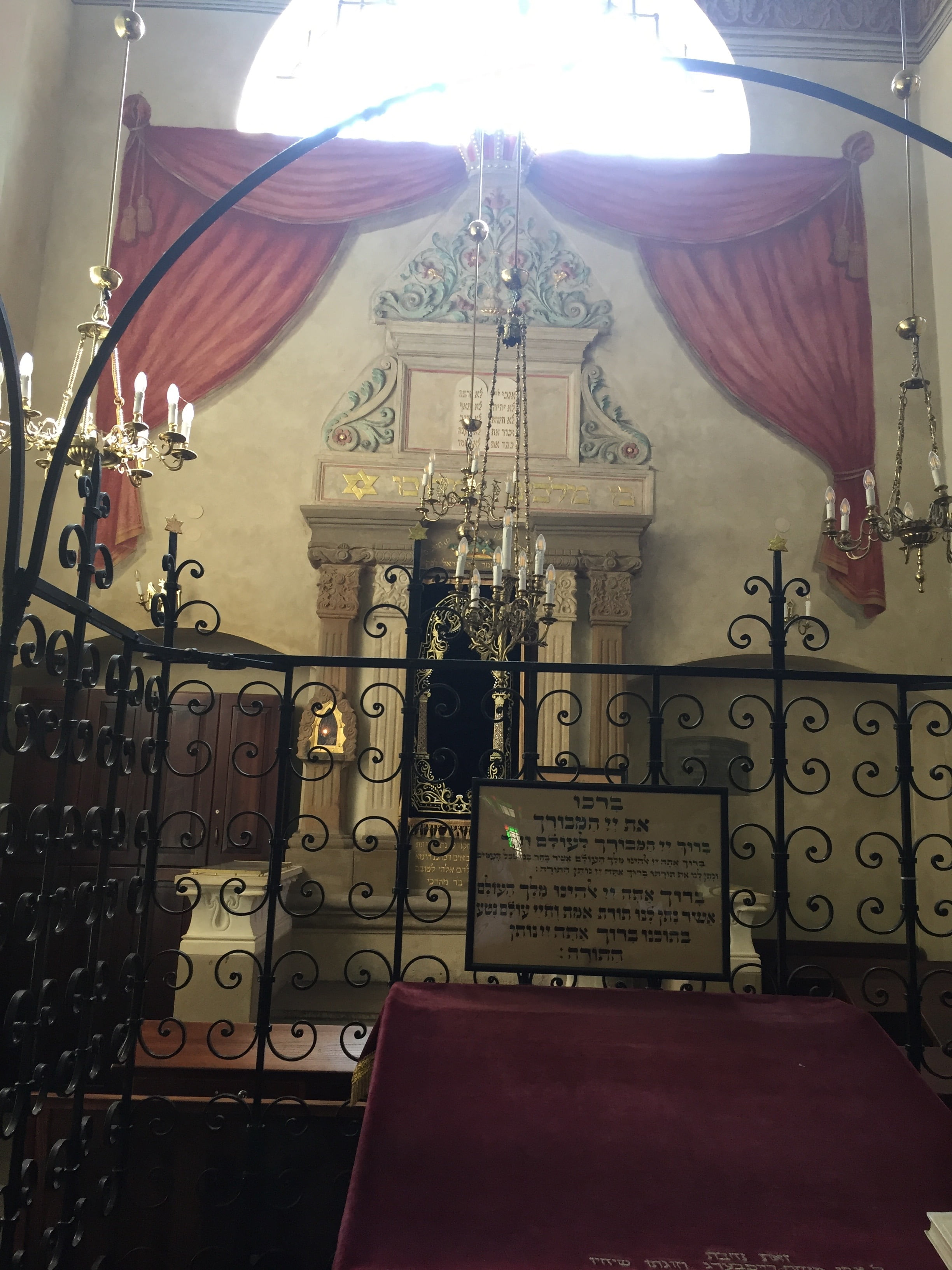 L'histoire juive de la ville de Cracovie en Pologne