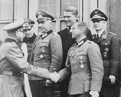 Photo d'archives Wernher von Braun,