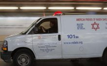 un enfant de 7ans fait une chute dans l'escalier de la synagogue de Ashdod