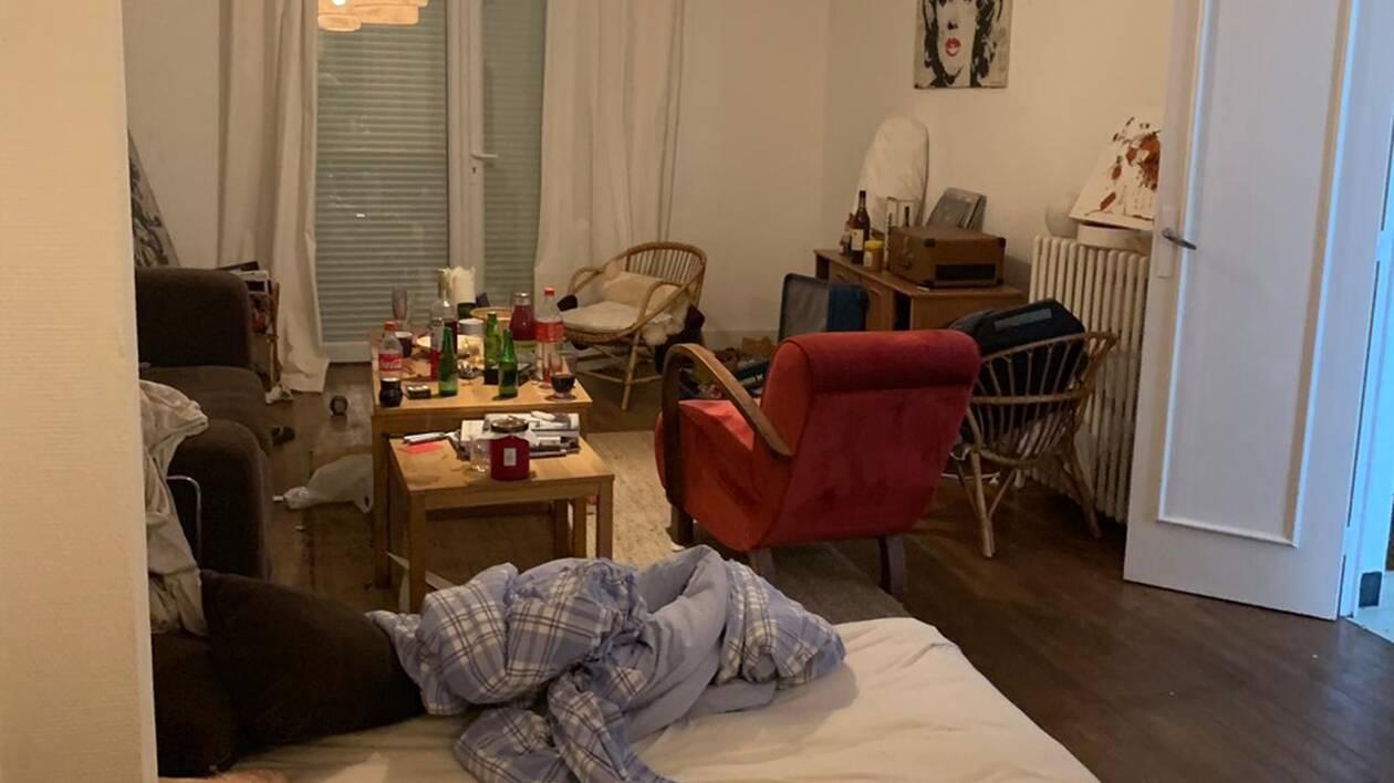 son appartement est squatté par son auxiliaire de vie